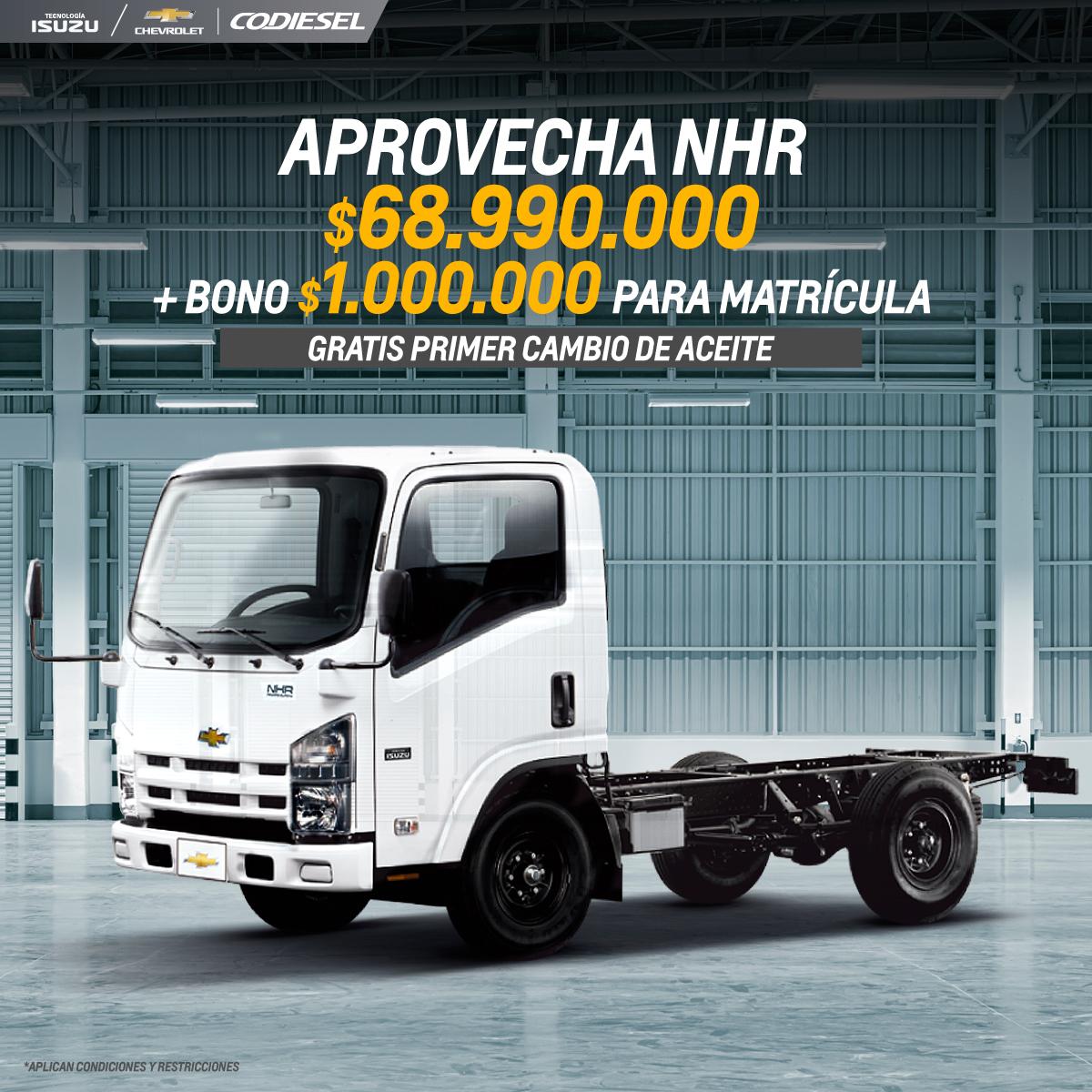 APROVECHA NHR $68.990.000